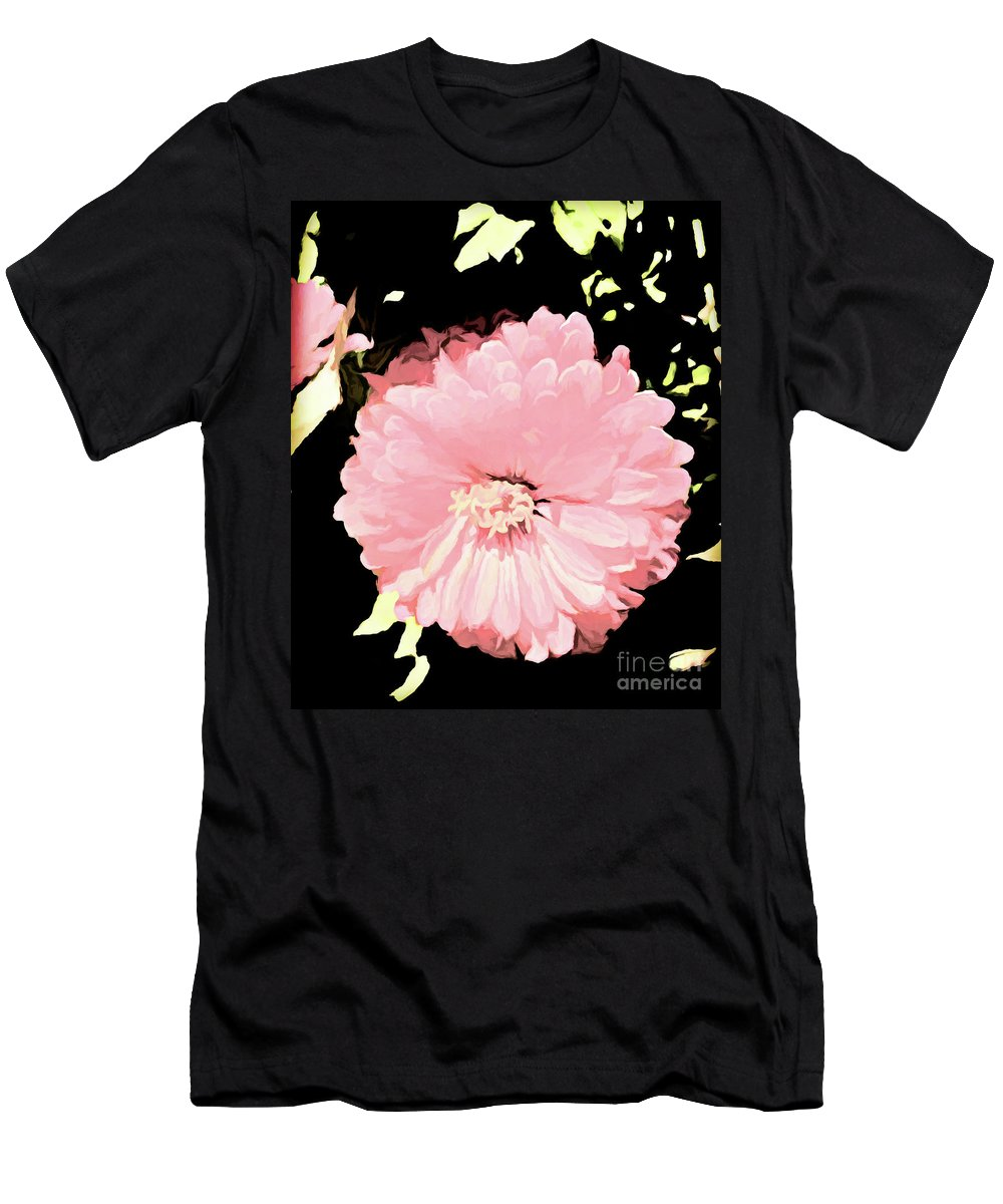 Flower Photographs Men's T-Shirt (Athletic Fit) featuring the painting Simply Southern by Shae Aja