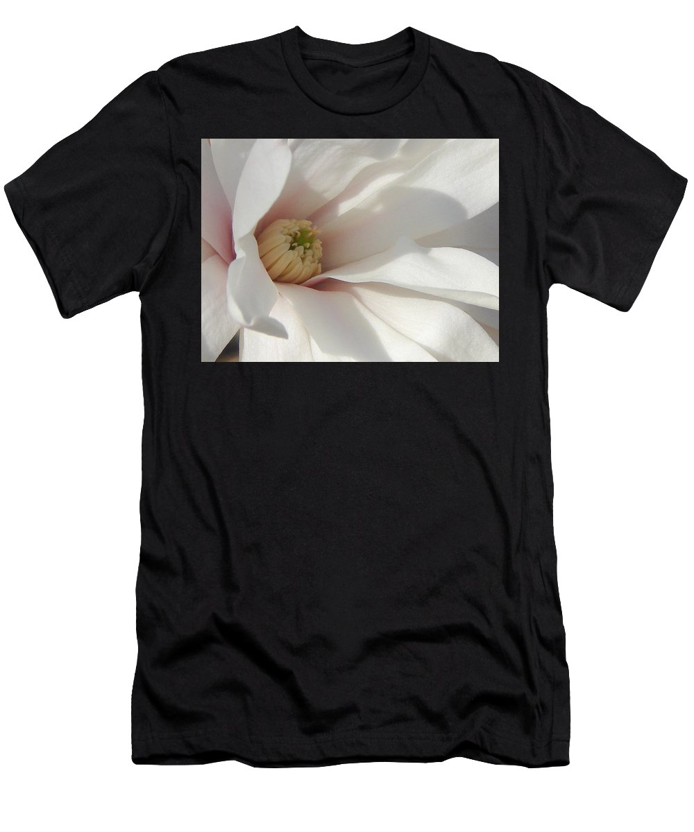 Men's T-Shirt (Athletic Fit) featuring the photograph Simply White by Luciana Seymour
