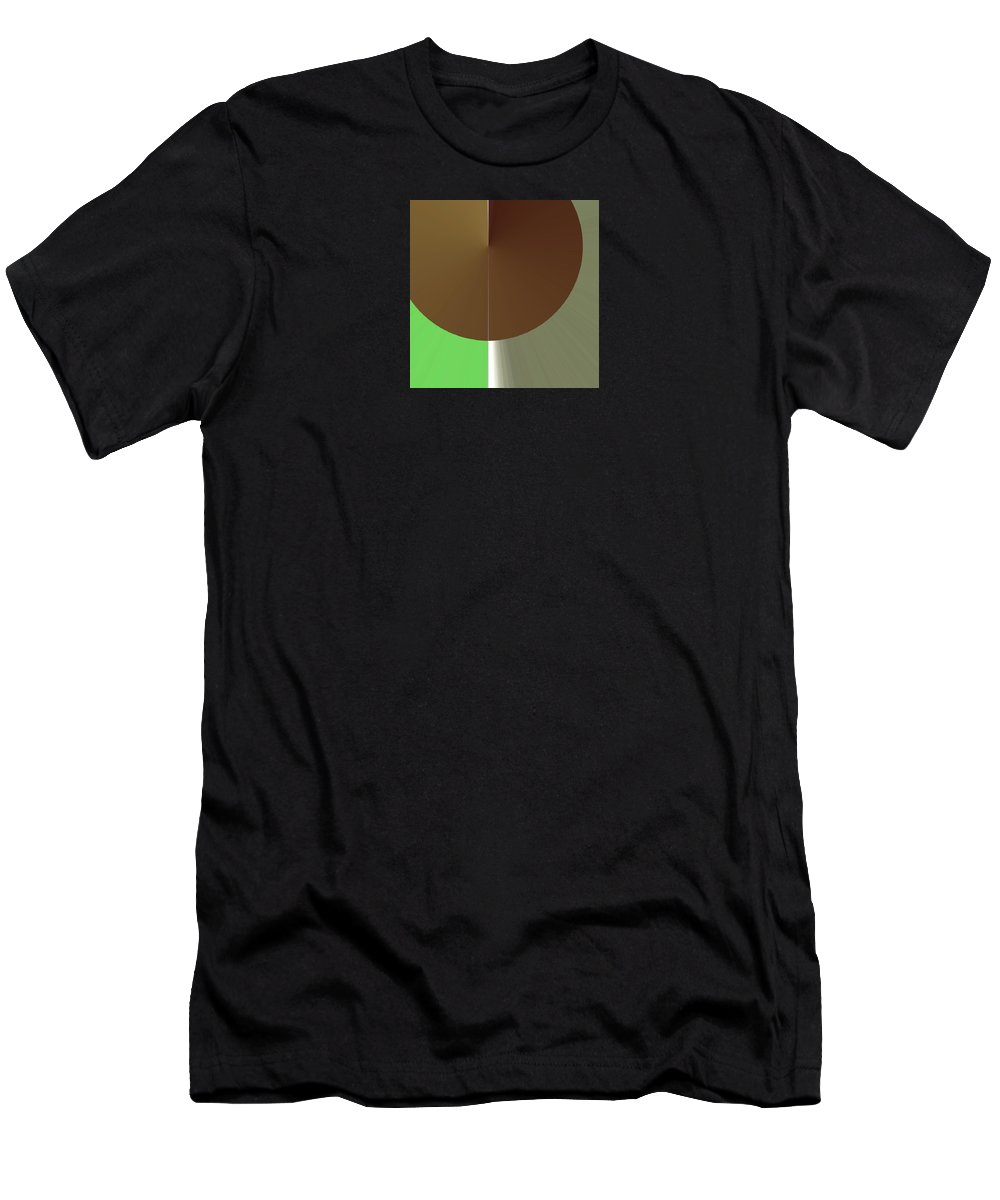 Abstract Men's T-Shirt (Athletic Fit) featuring the digital art Sine Nobilitate by Mark Sedgwick
