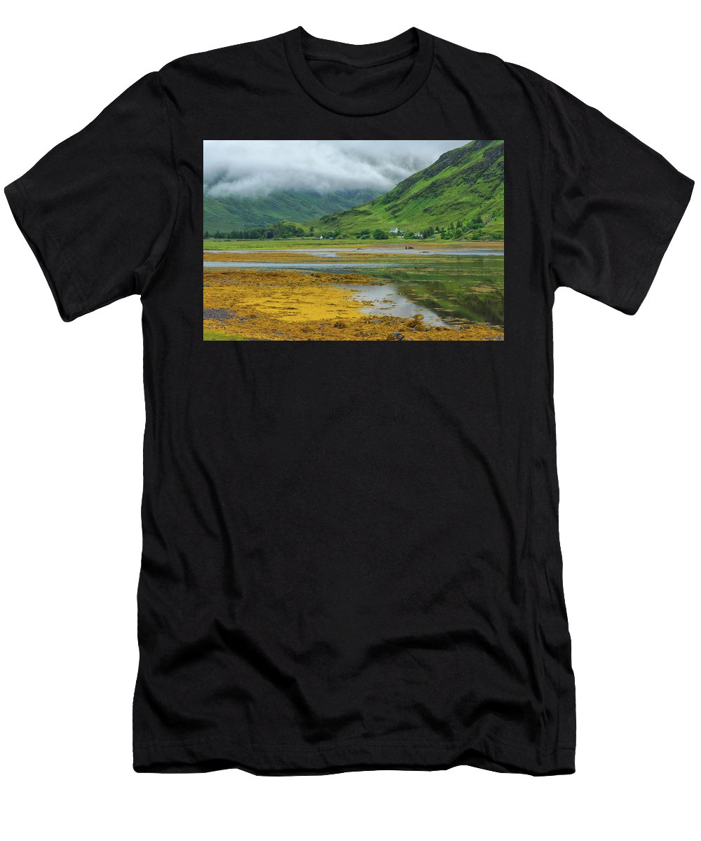 Europe Men's T-Shirt (Athletic Fit) featuring the photograph Skye by Christian Heeb