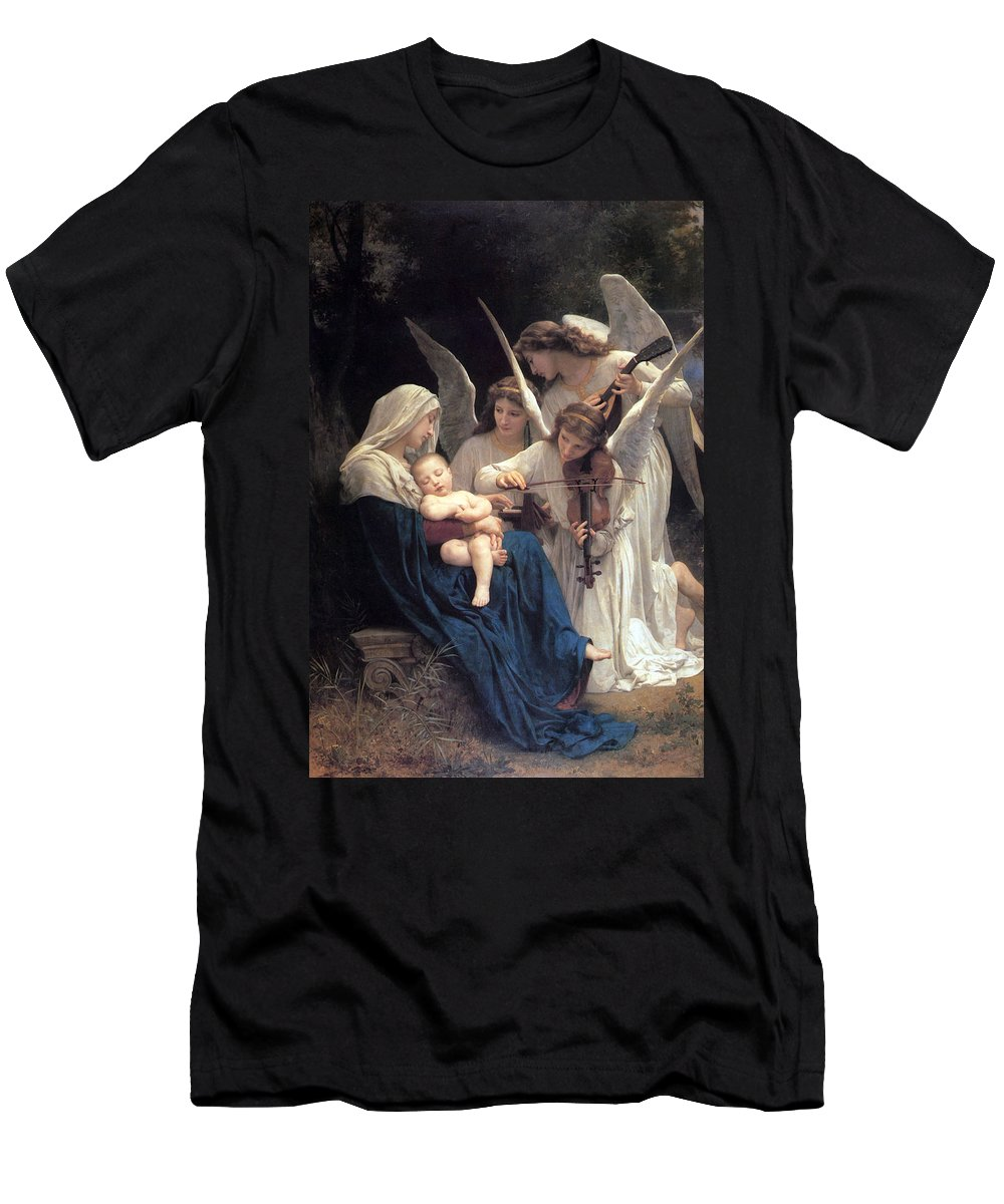 Sleeping Men's T-Shirt (Athletic Fit) featuring the photograph Sleeping Baby Jesus by Munir Alawi