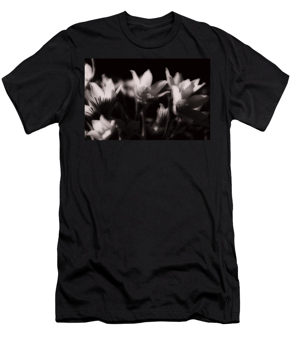 Flowers T-Shirt featuring the photograph Sleepy Flowers by Marilyn Hunt