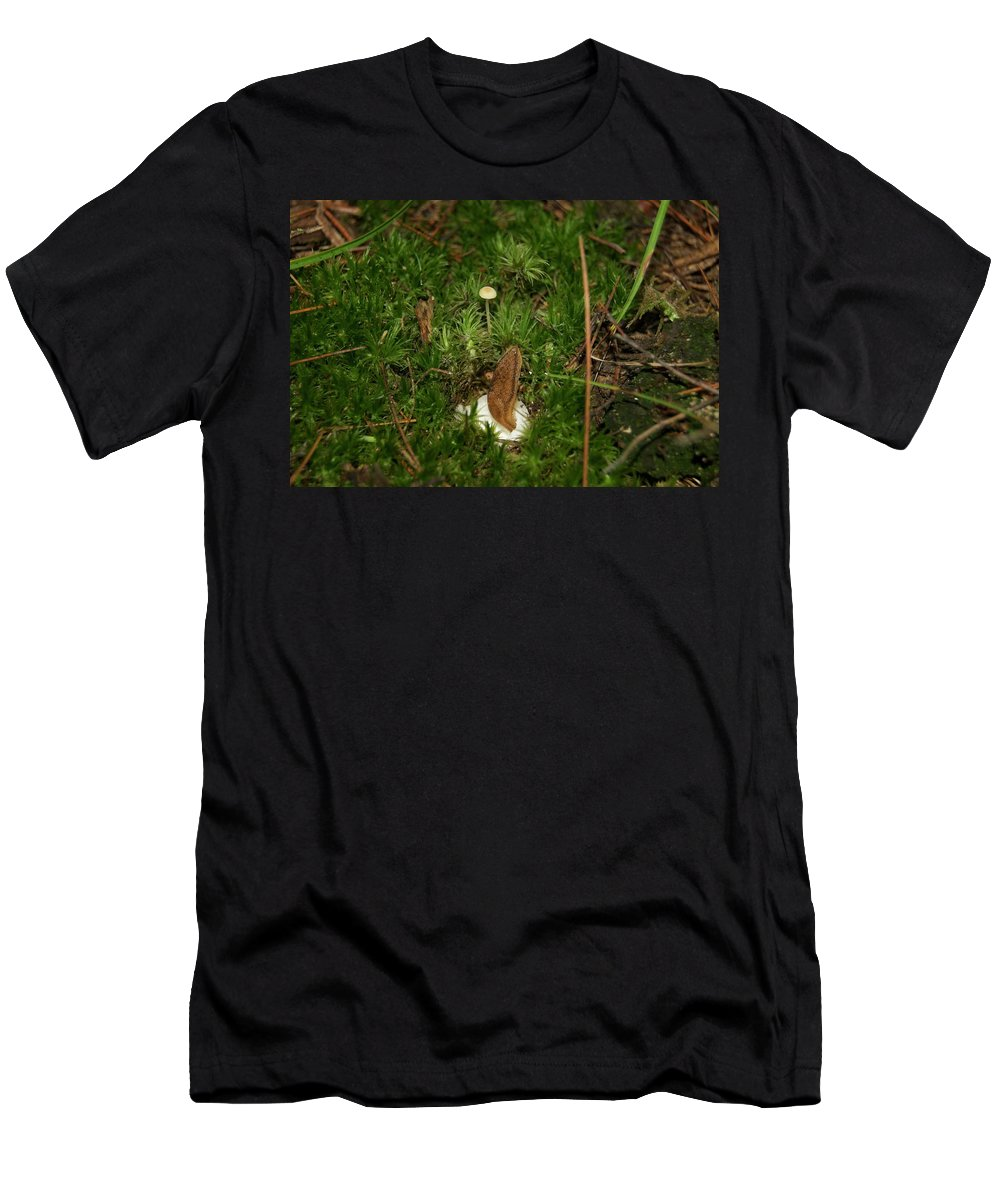 Men's T-Shirt (Athletic Fit) featuring the photograph Slug by Michael Peychich