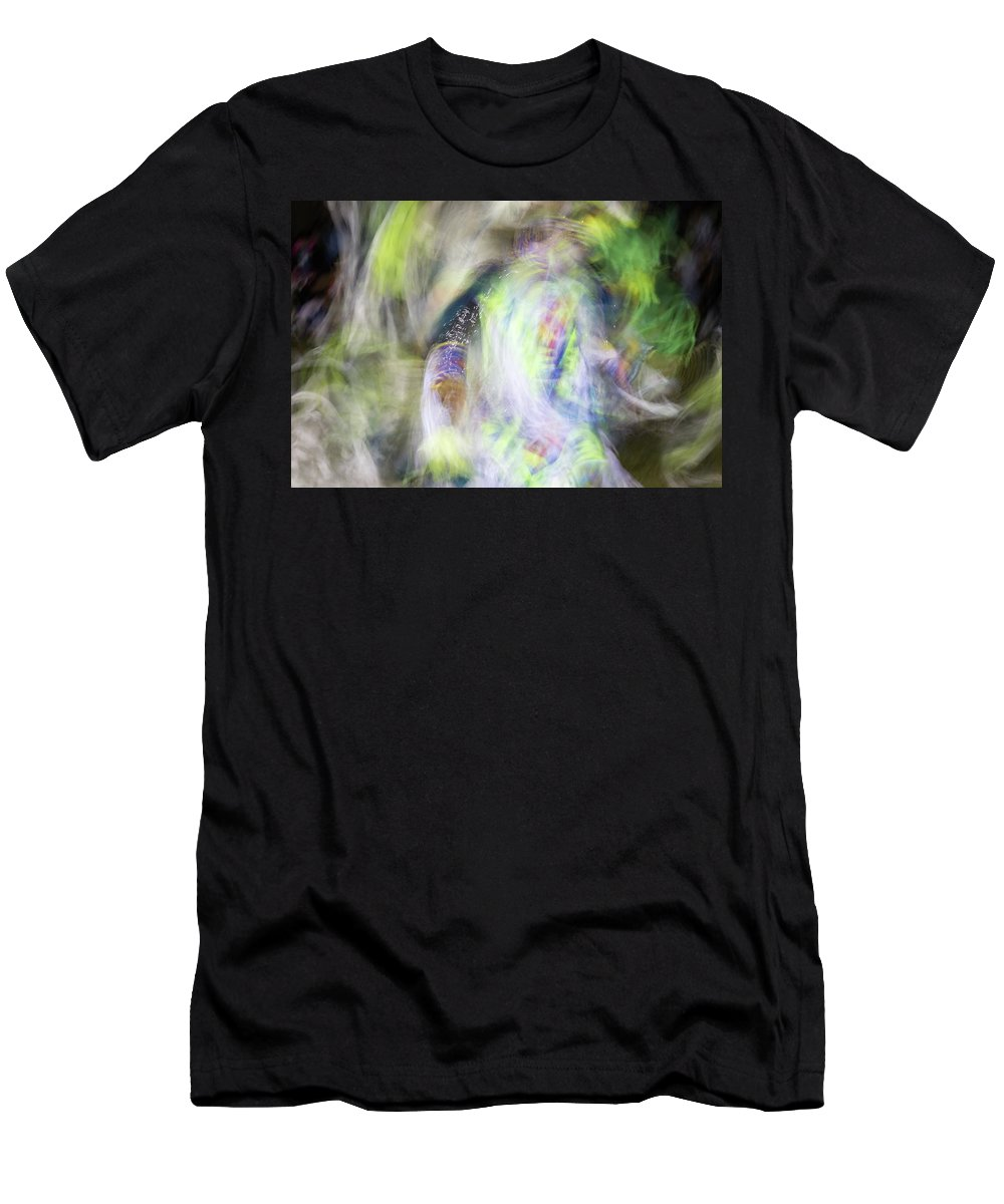 Pow Wow Men's T-Shirt (Athletic Fit) featuring the photograph Smudge 211 by M Bubba Blume