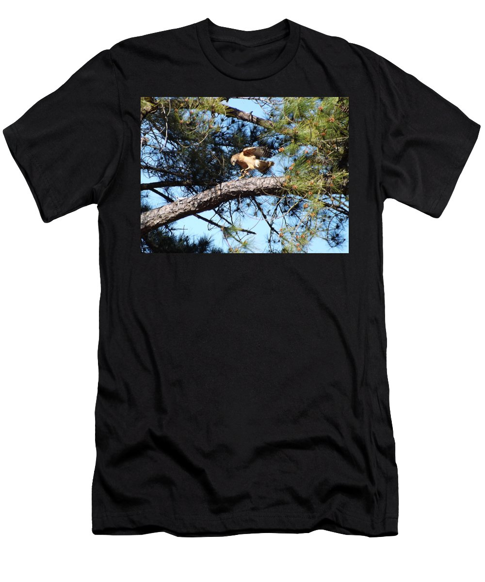 Men's T-Shirt (Athletic Fit) featuring the photograph Snacktime by Mark Dibble