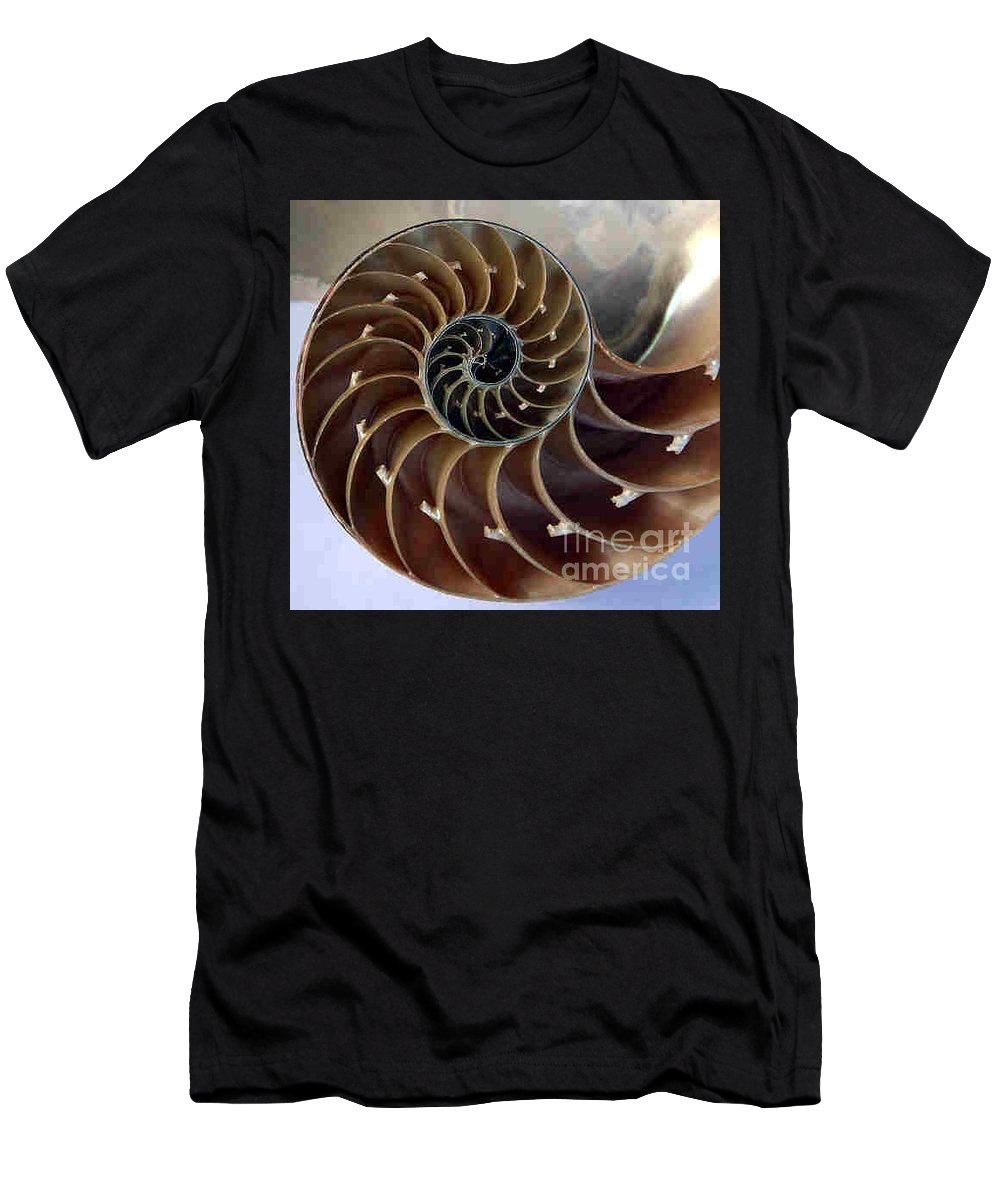 Snail Men's T-Shirt (Athletic Fit) featuring the photograph Snail by Dragica Micki Fortuna