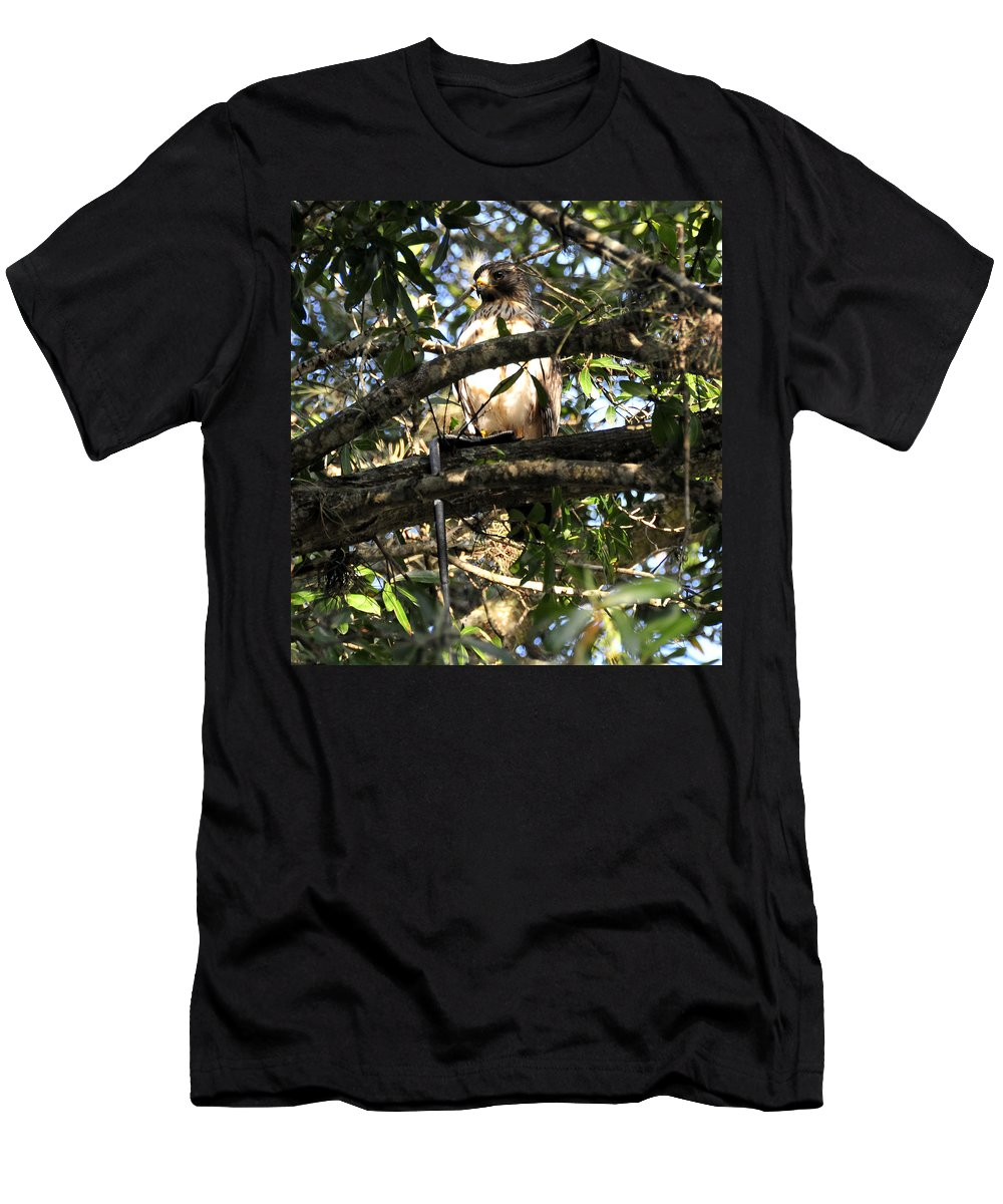 Wildlife Photography Men's T-Shirt (Athletic Fit) featuring the photograph Snake Dinner by David Lee Thompson