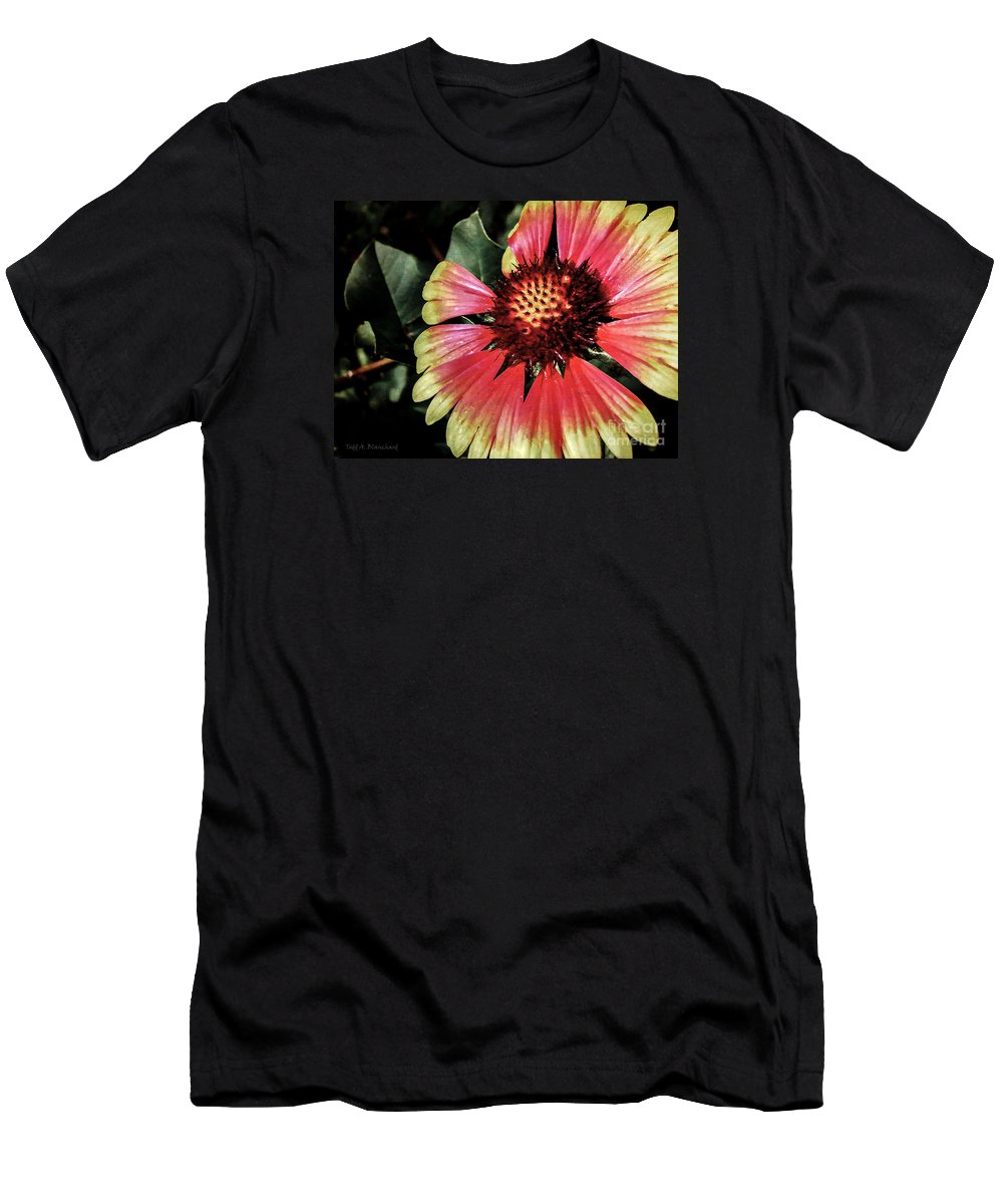 Flora Men's T-Shirt (Athletic Fit) featuring the photograph Soaking Up The Sun by Todd Blanchard