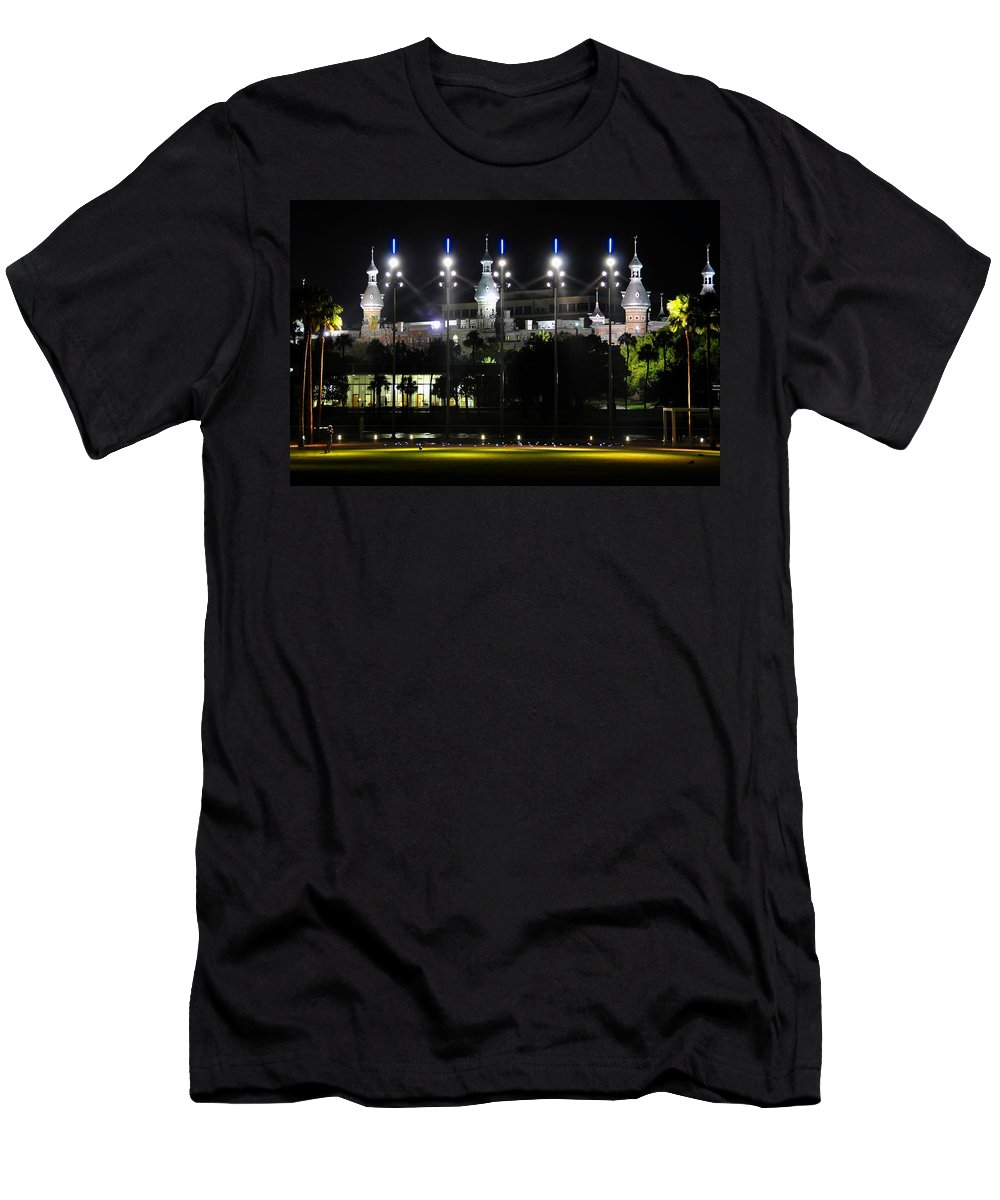 Fine Art Photography Men's T-Shirt (Athletic Fit) featuring the photograph Soccer Anyone by David Lee Thompson