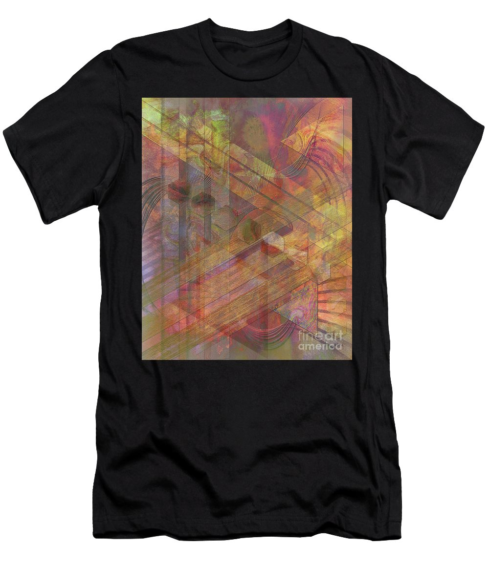 Soft Fantasia Men's T-Shirt (Athletic Fit) featuring the digital art Soft Fantasia by John Beck