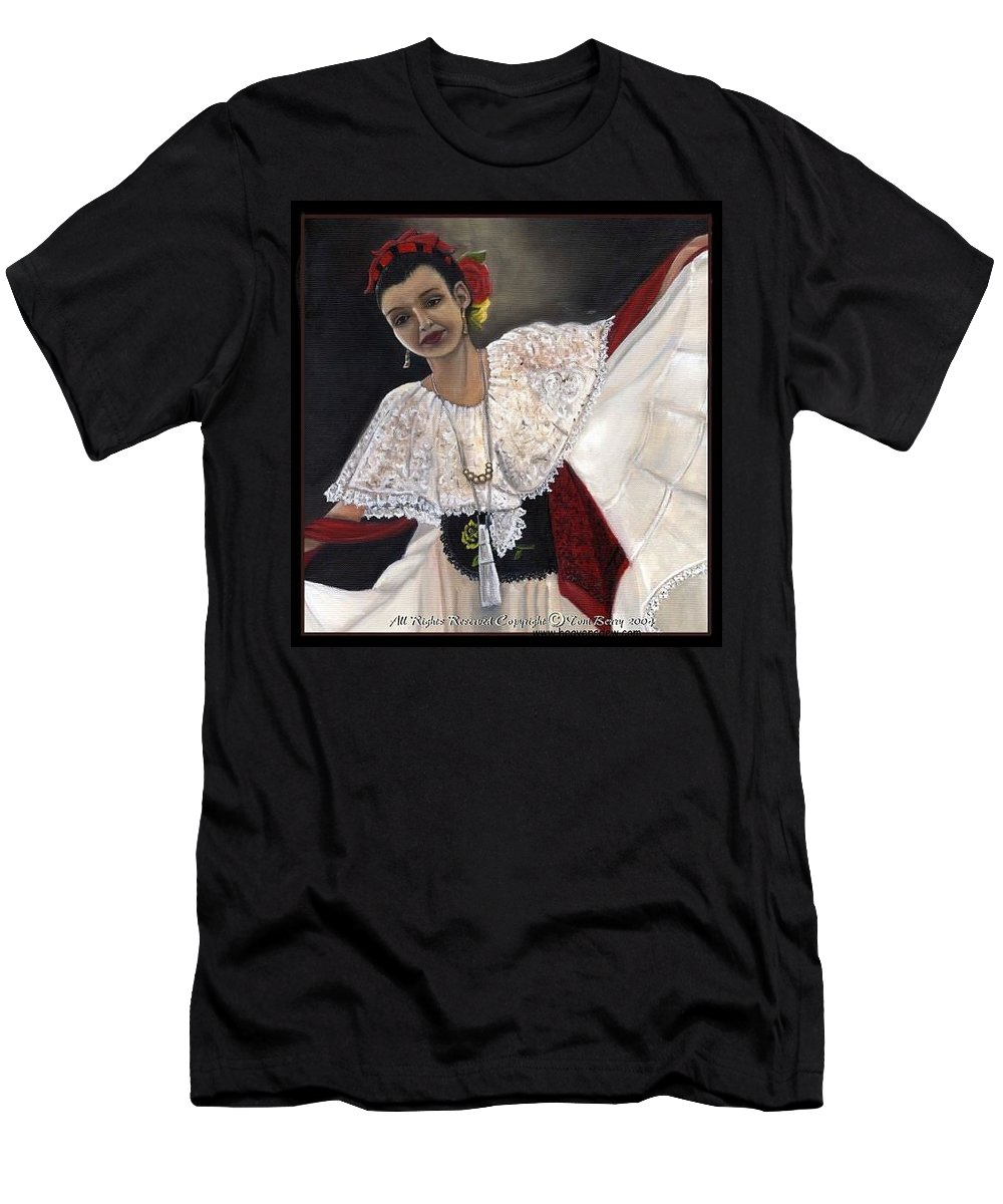Men's T-Shirt (Athletic Fit) featuring the painting Solita by Toni Berry