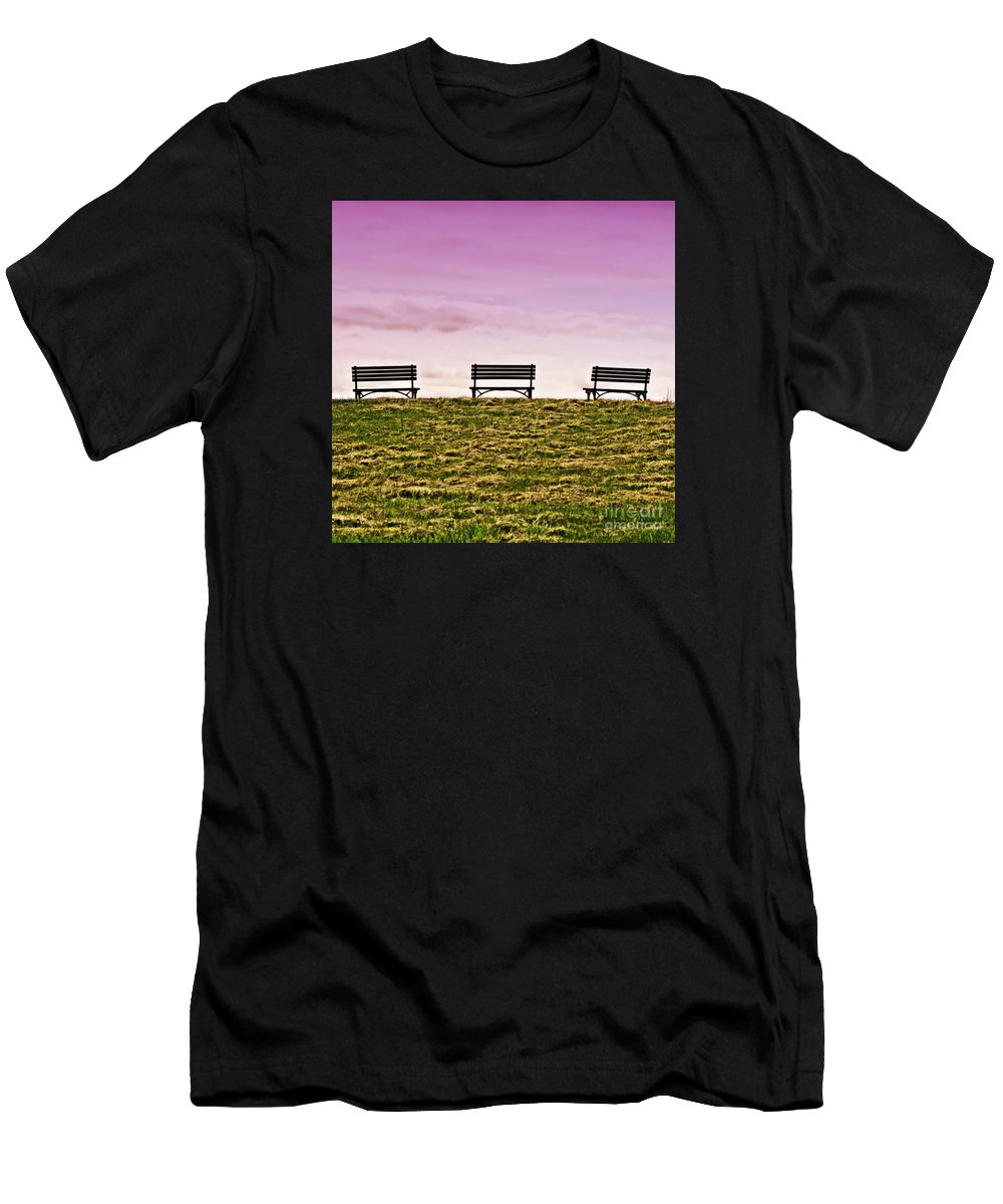 Mayland Men's T-Shirt (Athletic Fit) featuring the photograph Solitude by DJ Florek