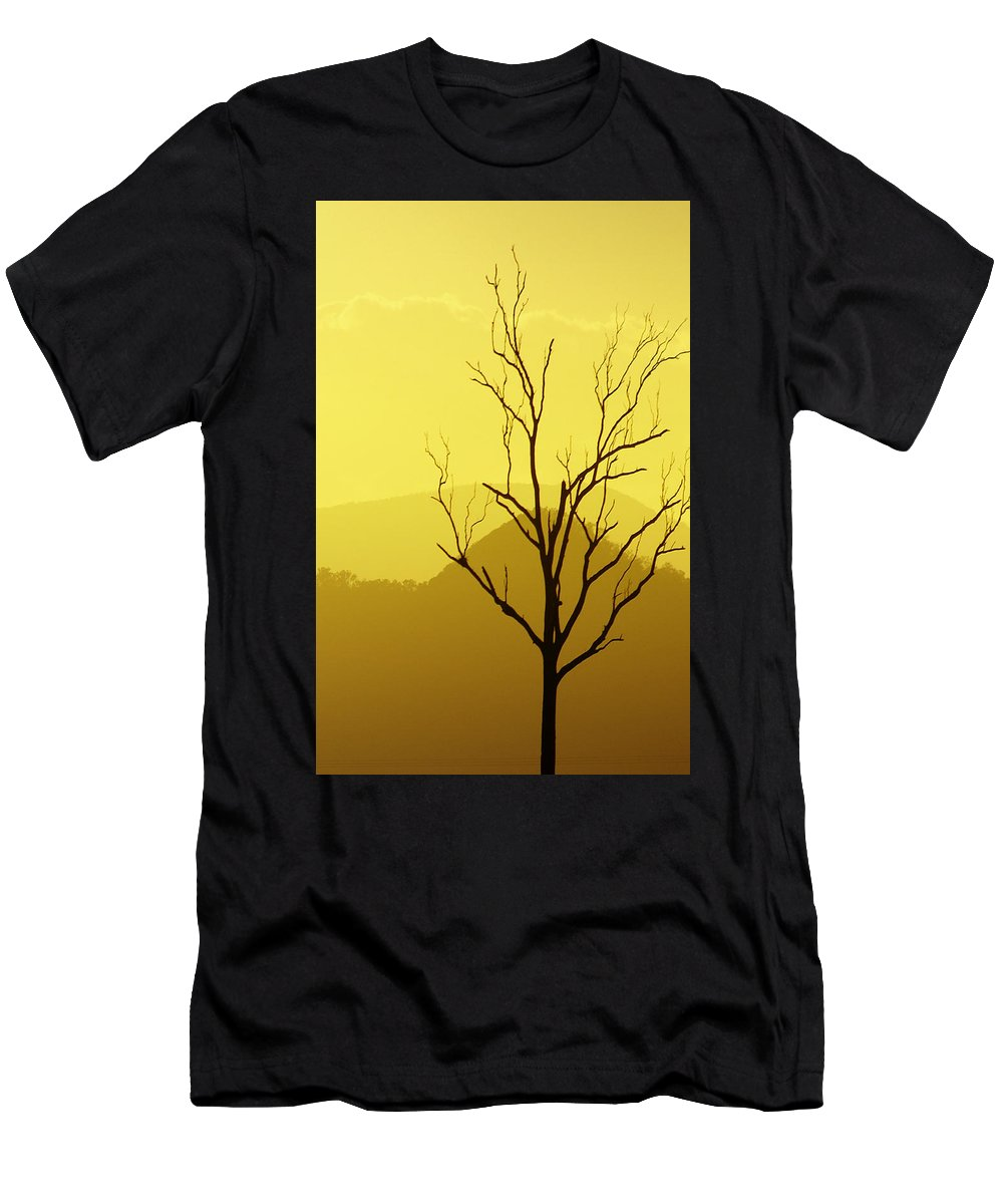Landscape Men's T-Shirt (Athletic Fit) featuring the photograph Solitude by Holly Kempe