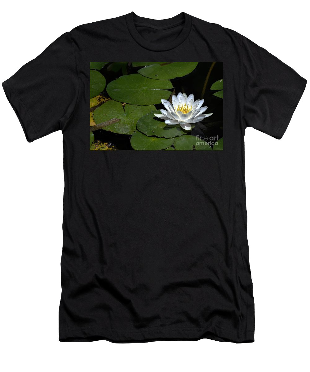 Clay Men's T-Shirt (Athletic Fit) featuring the photograph Solo by Clayton Bruster