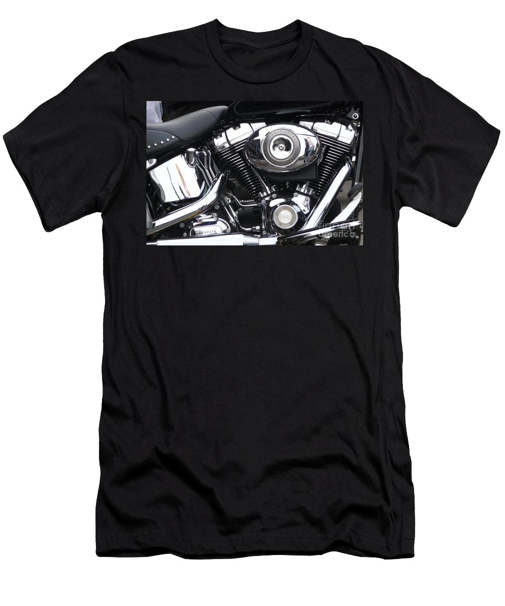 Harley Men's T-Shirt (Athletic Fit) featuring the photograph Something About It.... by Jo Hoden