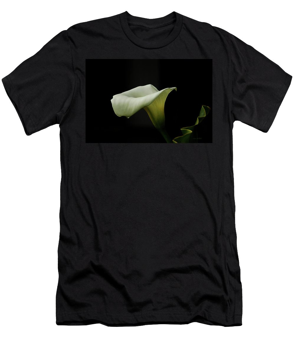 Calla Lily T-Shirt featuring the photograph Something About Lily by Donna Blackhall