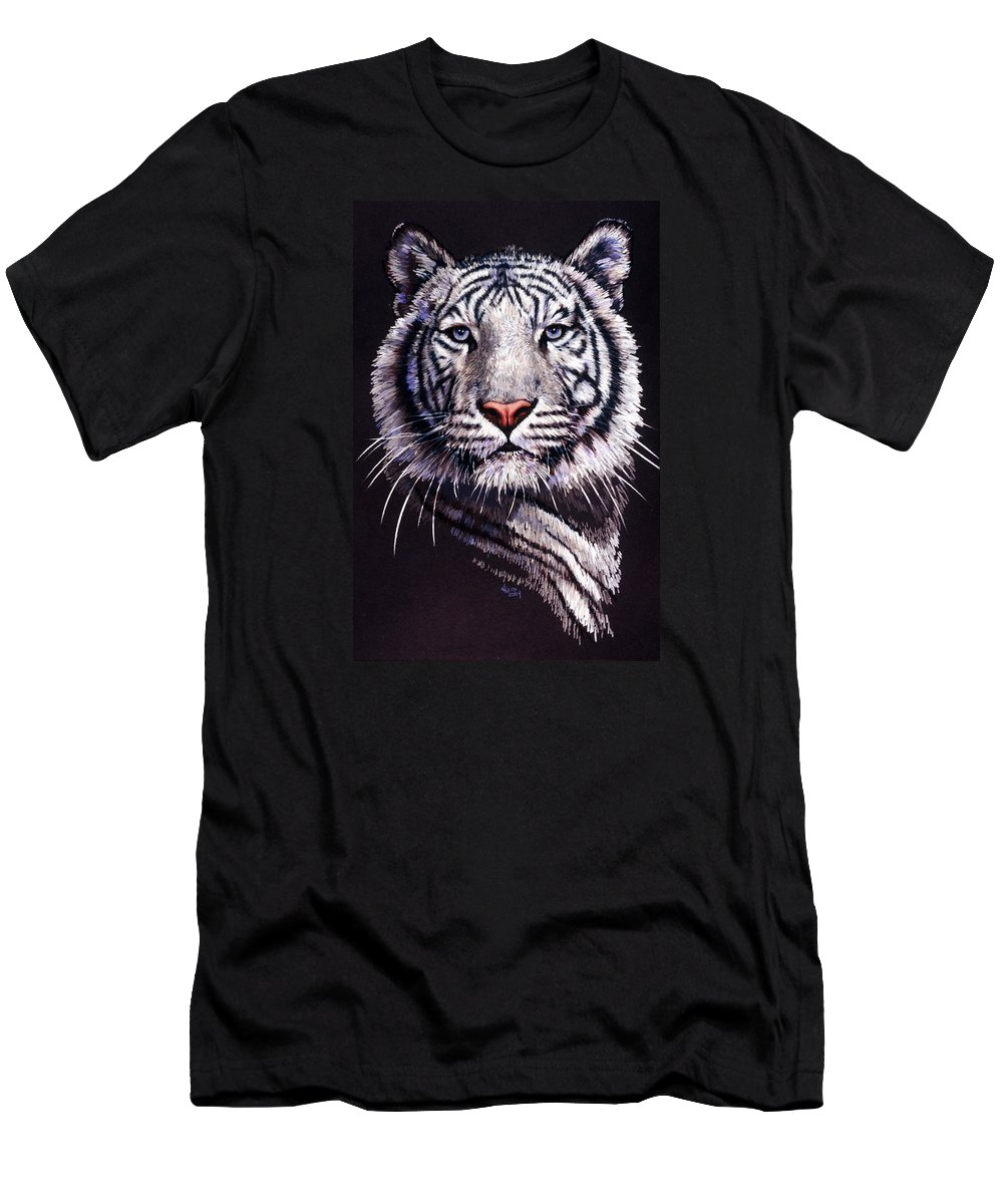 Tiger T-Shirt featuring the drawing Sorcerer by Barbara Keith