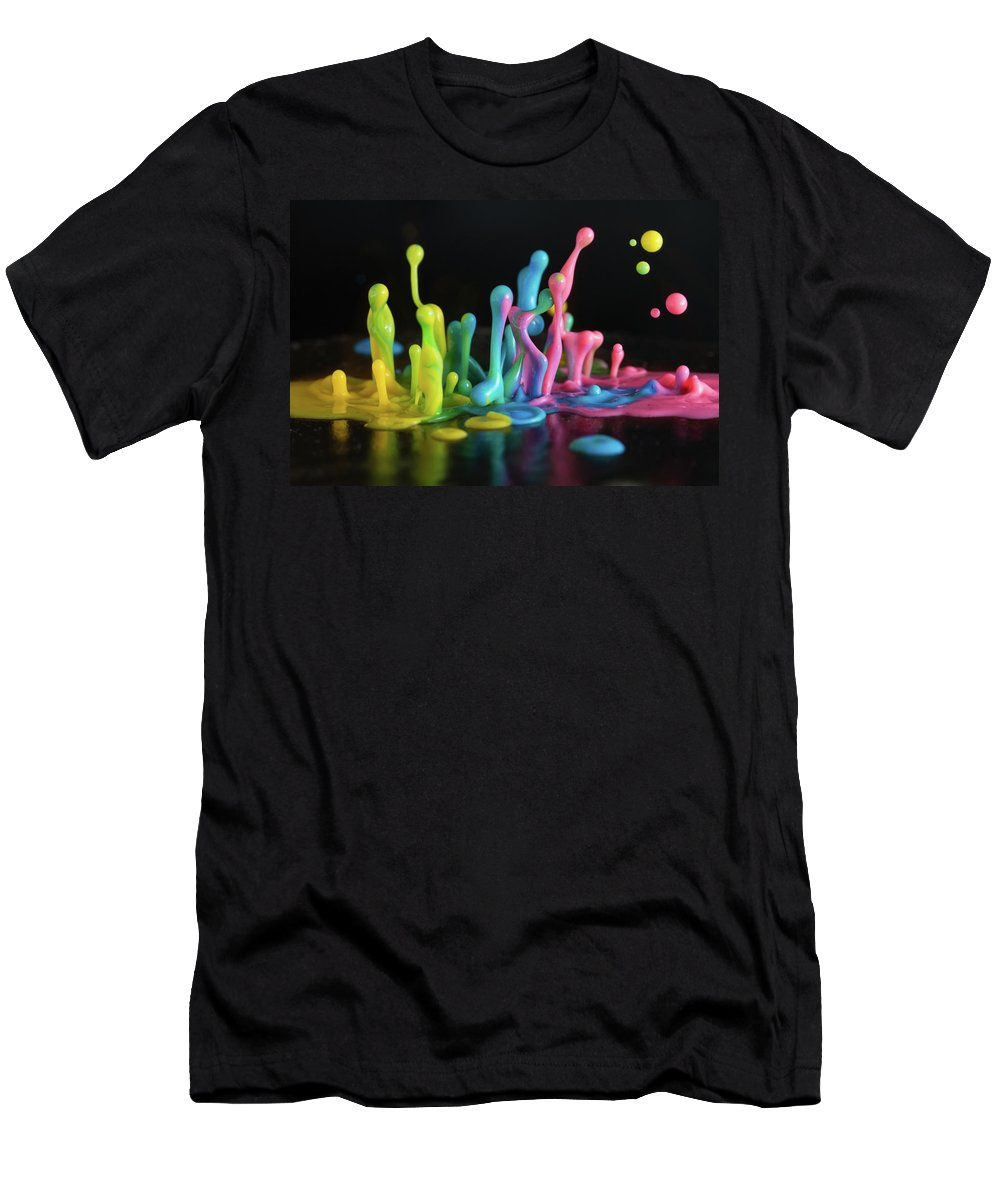 Sound Men's T-Shirt (Athletic Fit) featuring the photograph Sound Sculpture by William Freebilly photography