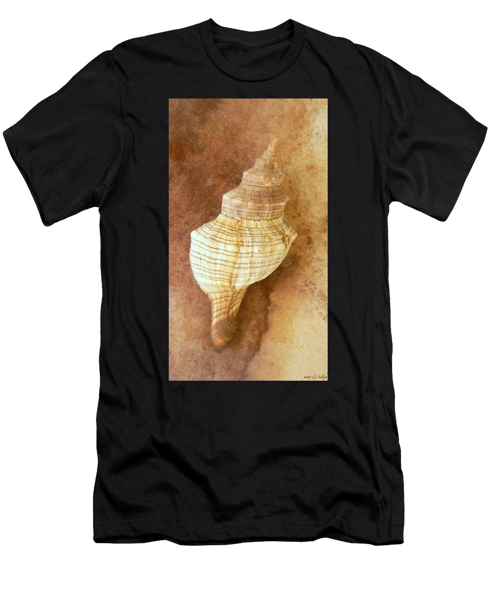 Still Life T-Shirt featuring the photograph Sounds of the Sea by Holly Kempe