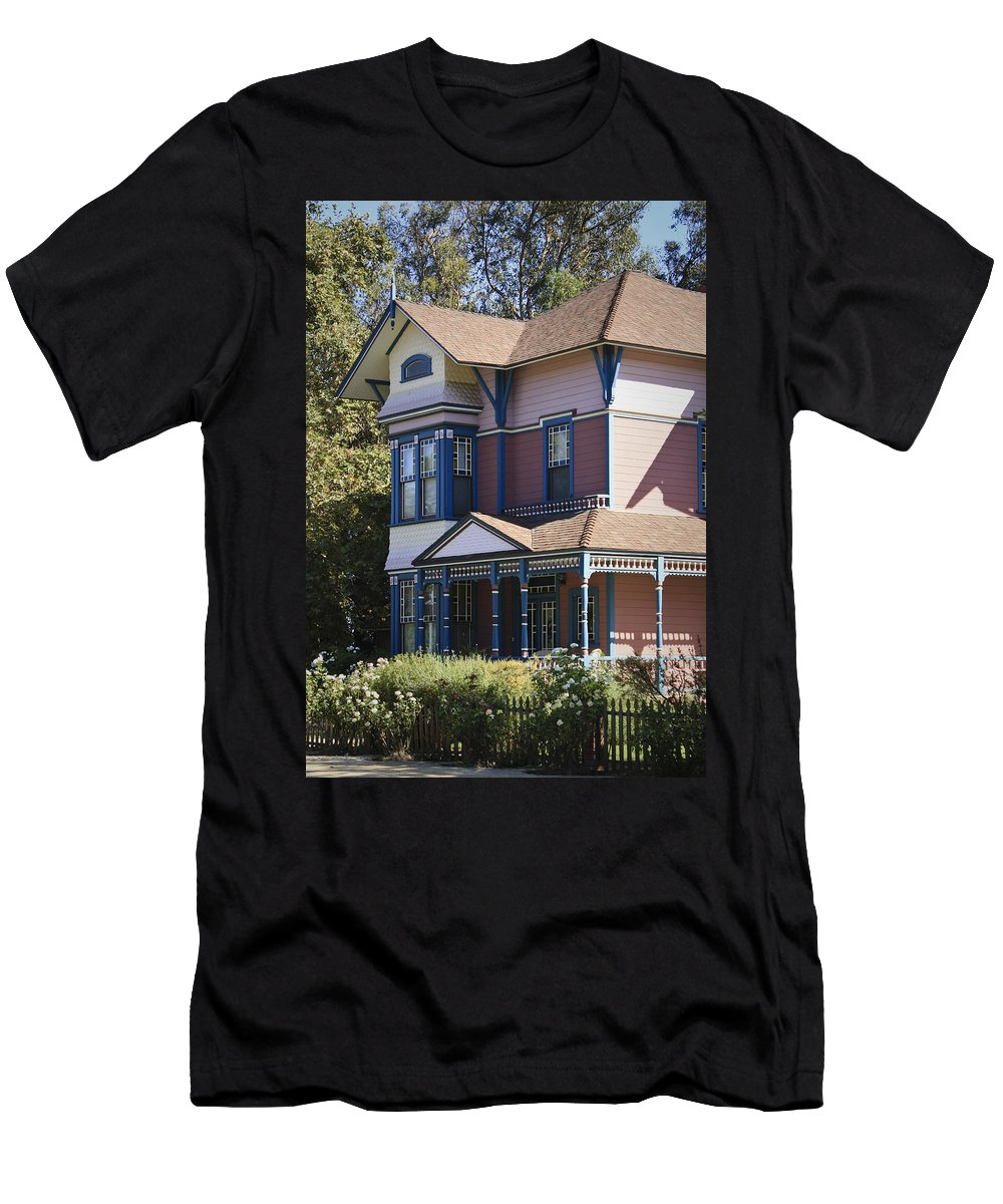California Men's T-Shirt (Athletic Fit) featuring the photograph Southern California Painted Lady by Teresa Mucha
