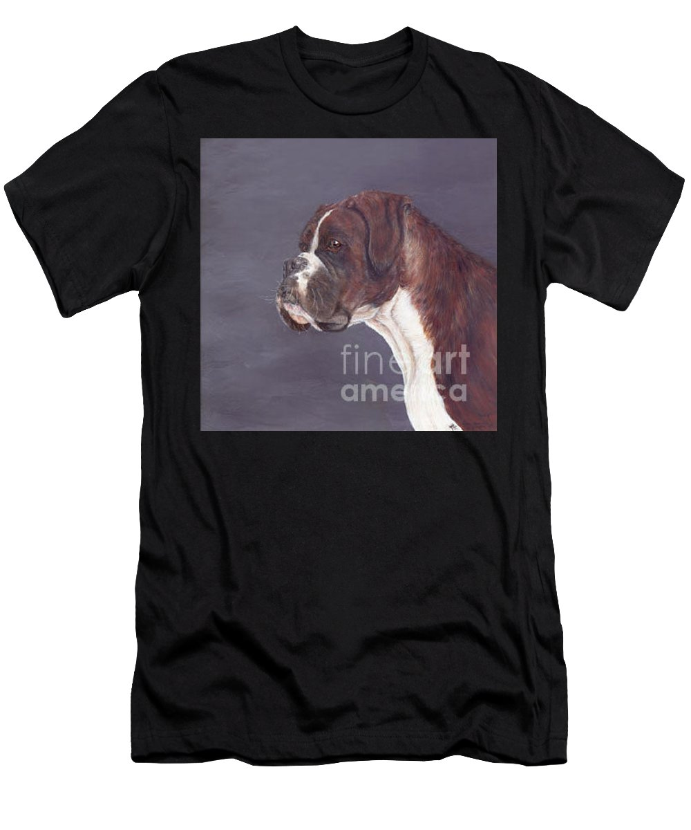 Oil Men's T-Shirt (Athletic Fit) featuring the painting sox by Keran Sunaski Gilmore