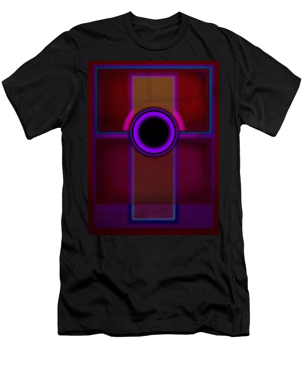 Portal Men's T-Shirt (Athletic Fit) featuring the painting Speaker by Charles Stuart