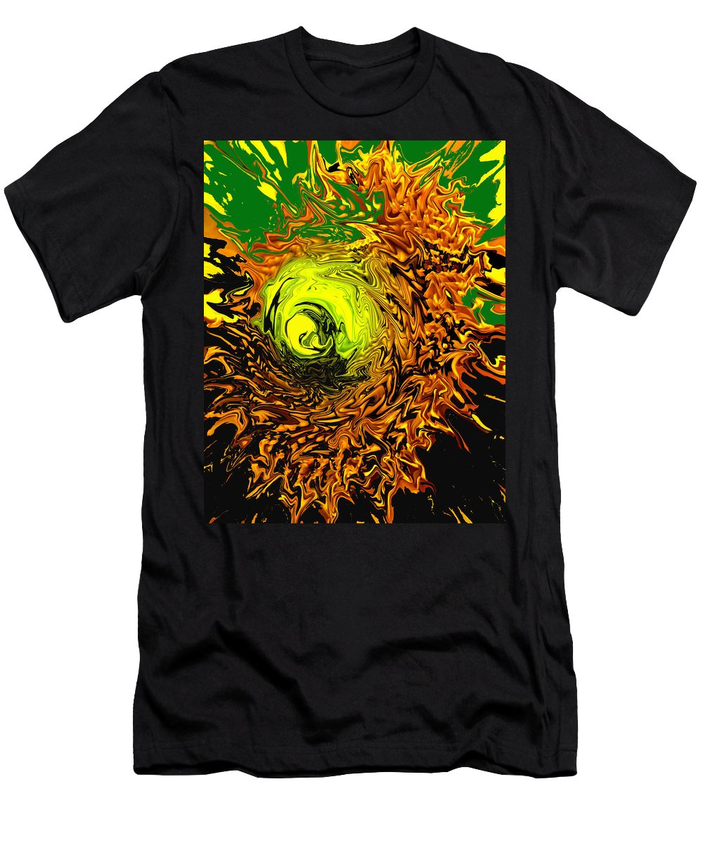 Abstract Men's T-Shirt (Athletic Fit) featuring the digital art Special by Ian MacDonald