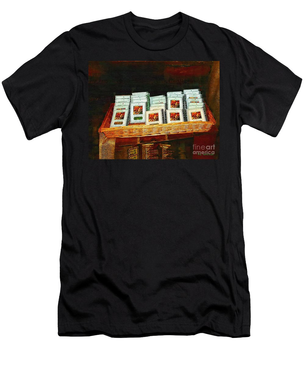 Antiques Men's T-Shirt (Athletic Fit) featuring the painting Spice Island by RC DeWinter