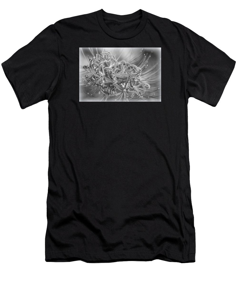 Men's T-Shirt (Athletic Fit) featuring the photograph Spider Lily by Jerry Dickerson
