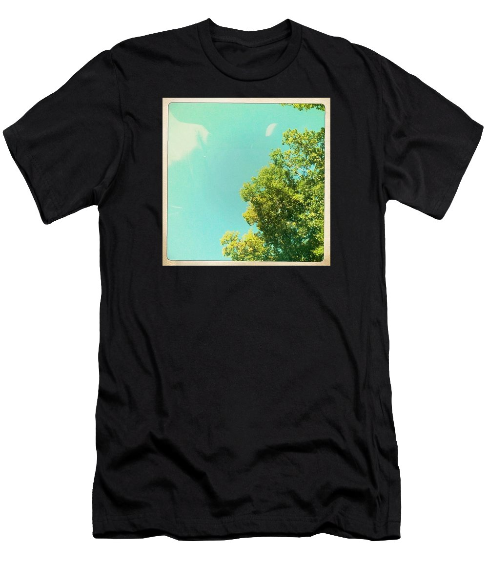 #spring #photography #sunlight Men's T-Shirt (Athletic Fit) featuring the photograph Spring 2 by Le Henan Catherine