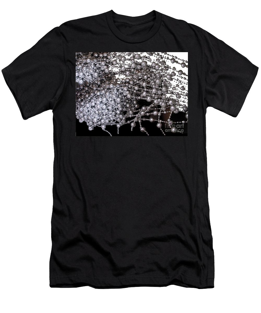 Beadwork Men's T-Shirt (Athletic Fit) featuring the digital art Spring Breakup by Ron Bissett