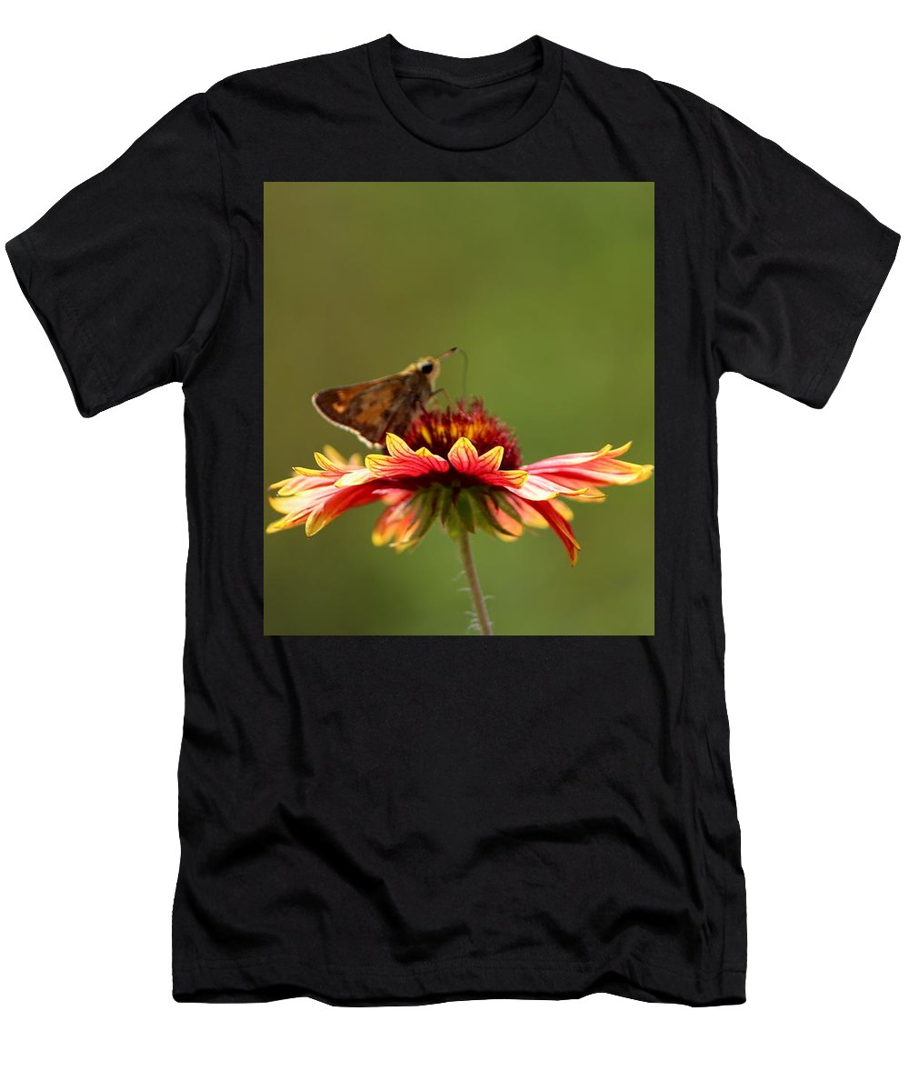 Spring Men's T-Shirt (Athletic Fit) featuring the photograph Spring Day by Sparrow TwoTheKnee