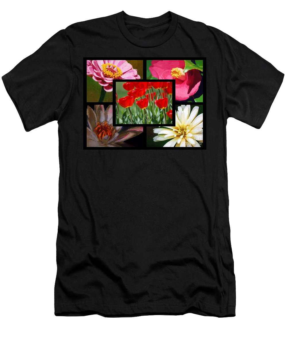 Spring Men's T-Shirt (Athletic Fit) featuring the photograph Spring by Donna Bentley