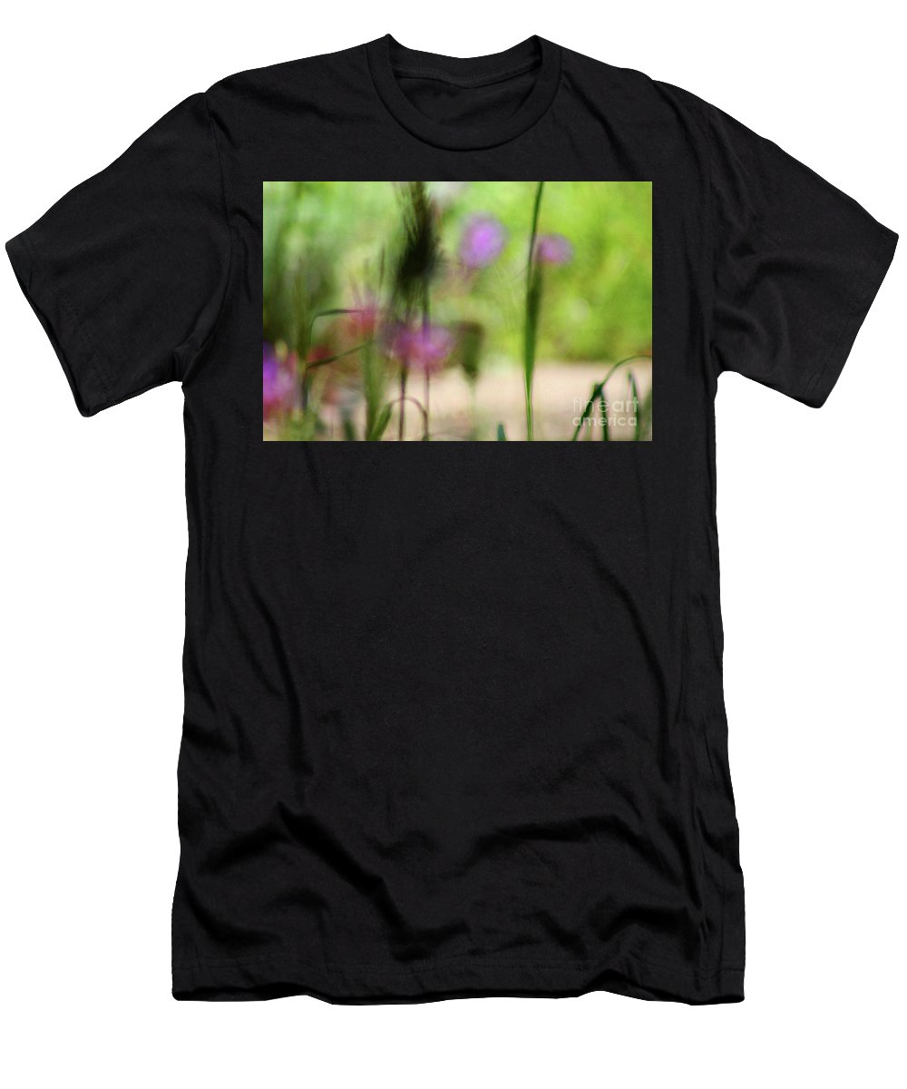 Nature Men's T-Shirt (Athletic Fit) featuring the photograph Spring Dreams Abstract by Karen Adams