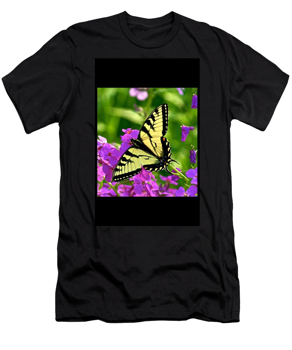 Butterfly Men's T-Shirt (Athletic Fit) featuring the photograph Spring Glory by Robert Pearson