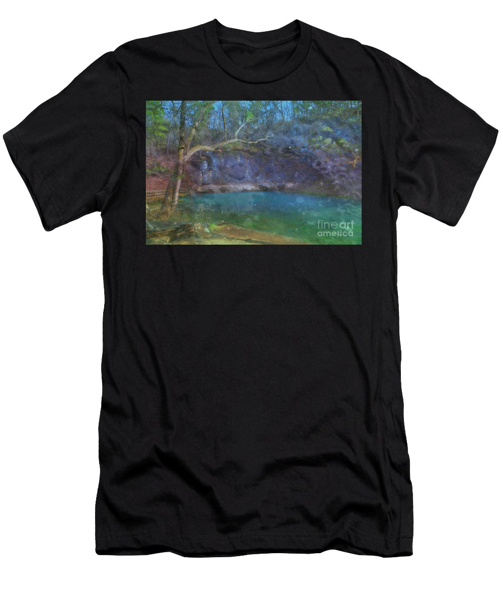 2016 Men's T-Shirt (Athletic Fit) featuring the photograph Spring Of The Summer Sky by Larry Braun
