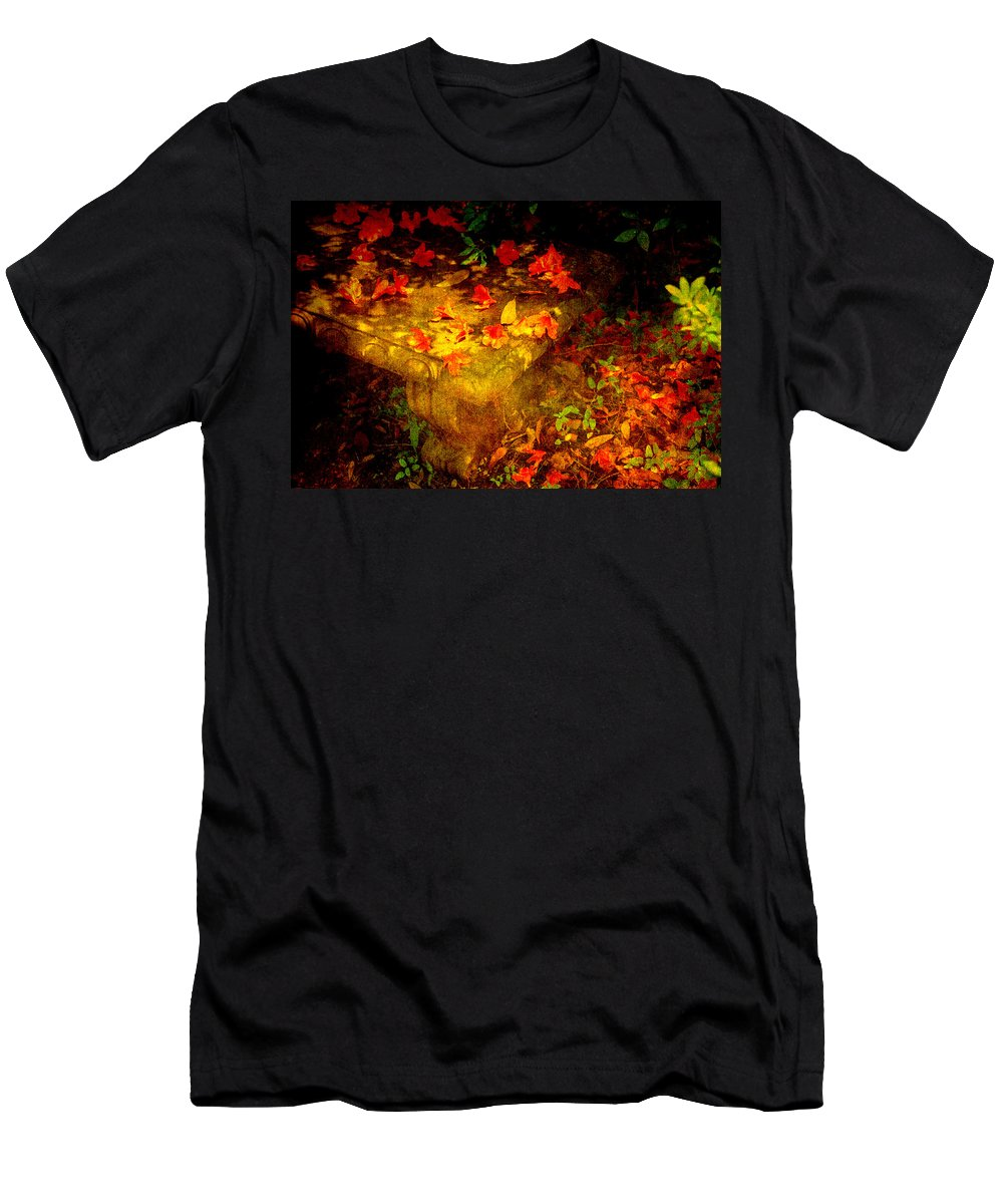 Flower Men's T-Shirt (Athletic Fit) featuring the photograph Spring Or Autumn by Susanne Van Hulst