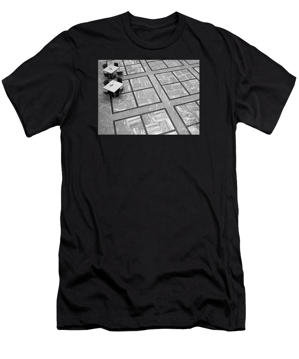Squares T-Shirt featuring the photograph Squared by Ann Horn