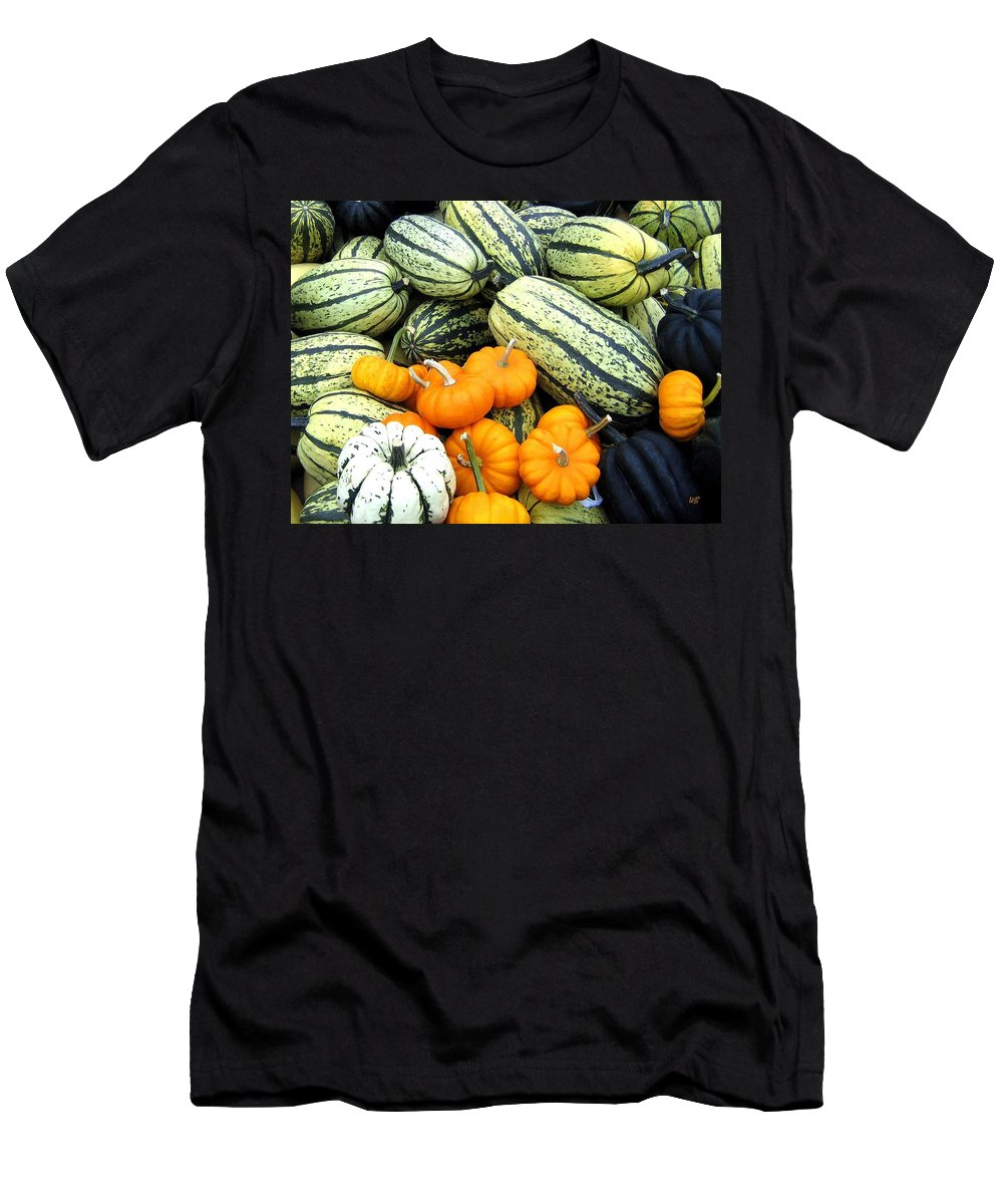 Squash Men's T-Shirt (Athletic Fit) featuring the photograph Squash Harvest by Will Borden