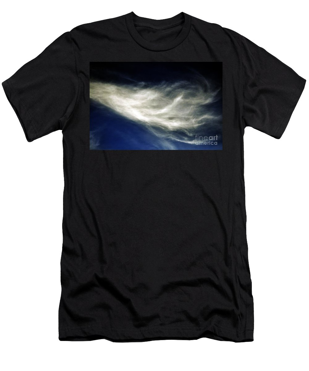 Clay Men's T-Shirt (Athletic Fit) featuring the photograph Squid Cloud by Clayton Bruster