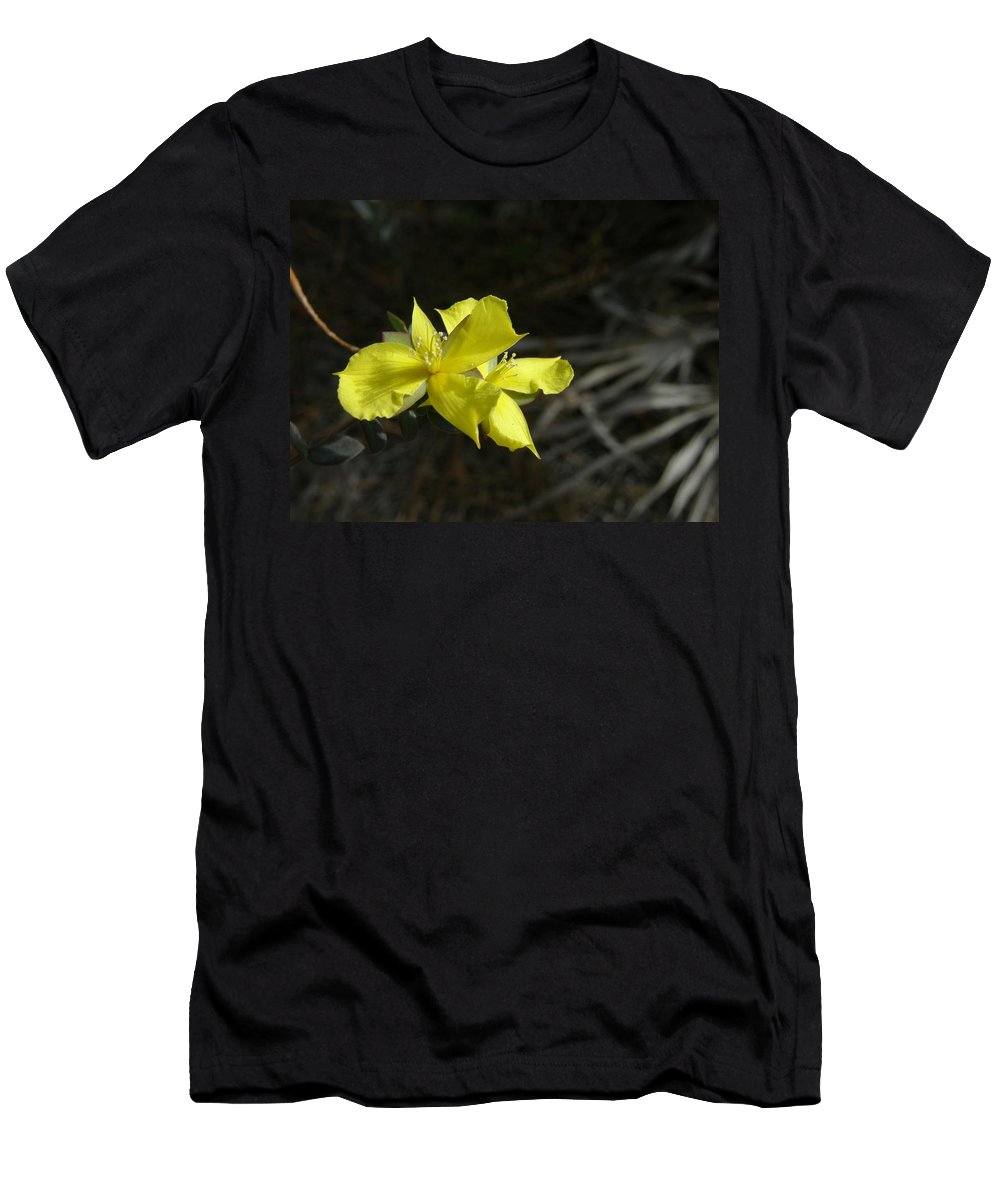 Flower Men's T-Shirt (Athletic Fit) featuring the photograph St. John by Kimberly Mohlenhoff