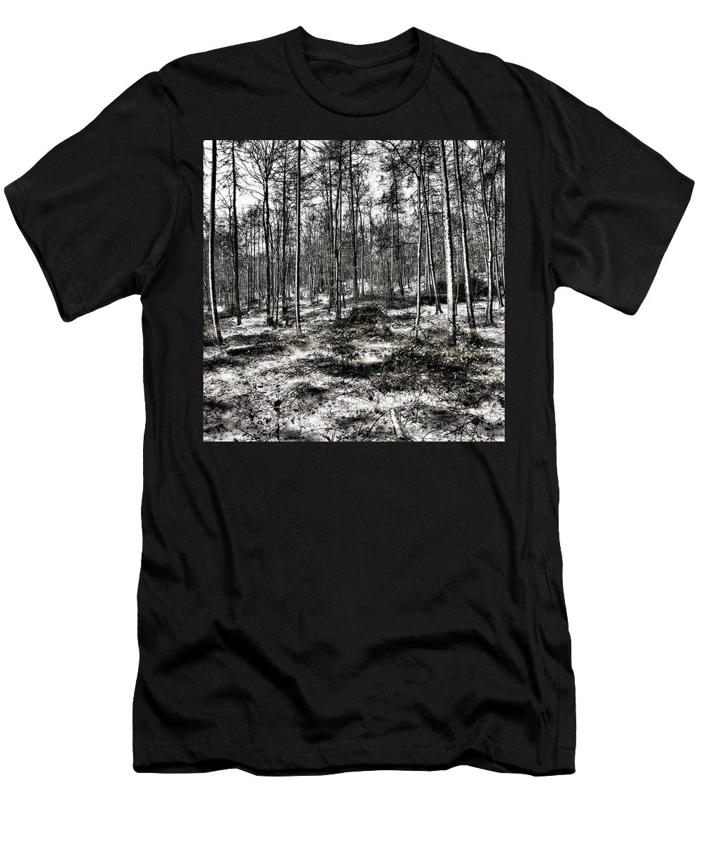 Stlawrenceswood T-Shirt featuring the photograph St Lawrence's Wood, Hartshill Hayes by John Edwards