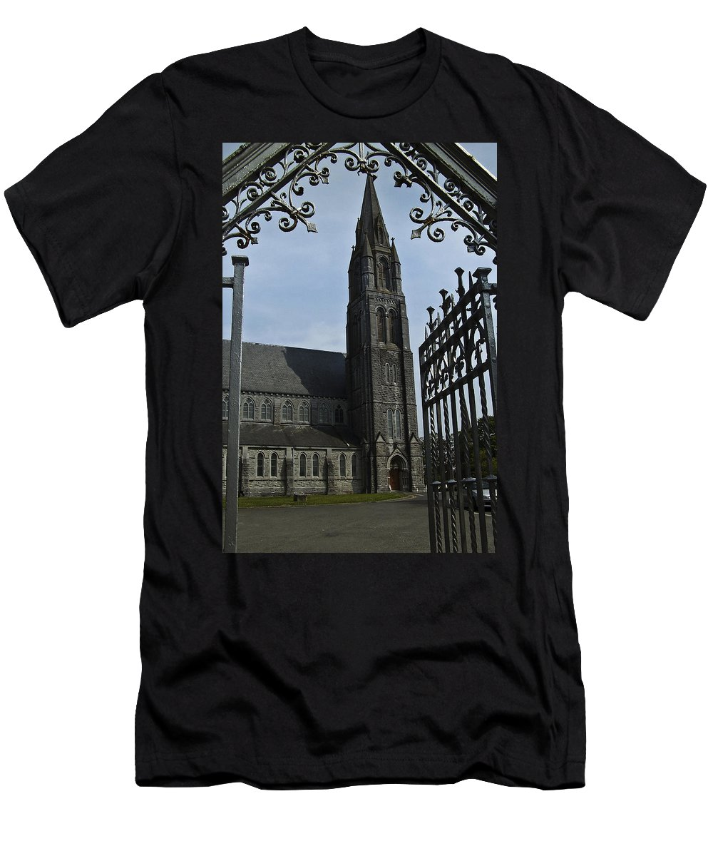 Nenagh Men's T-Shirt (Athletic Fit) featuring the photograph St. Mary by Teresa Mucha