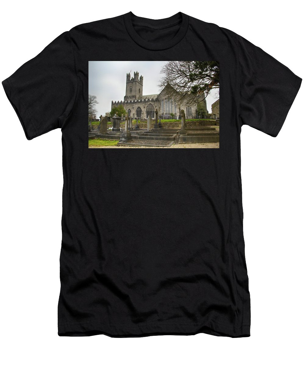 Church T-Shirt featuring the photograph St. Mary's Cathedral, Limerick by Marie Leslie
