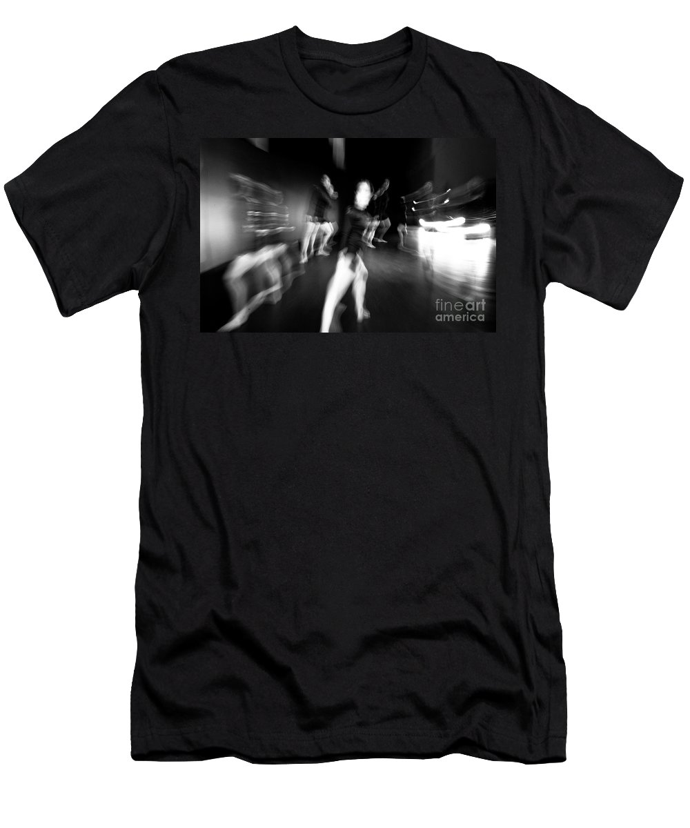 Moden Dance Men's T-Shirt (Athletic Fit) featuring the photograph Stage Zoom - 1 by Scott Sawyer