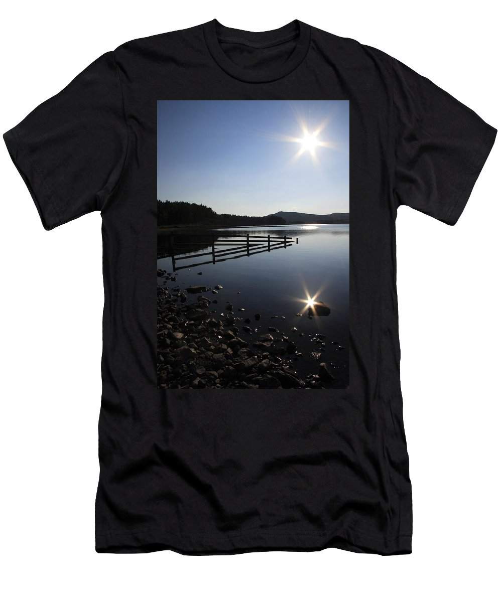 Sun Men's T-Shirt (Athletic Fit) featuring the photograph Starburst by Phil Crean