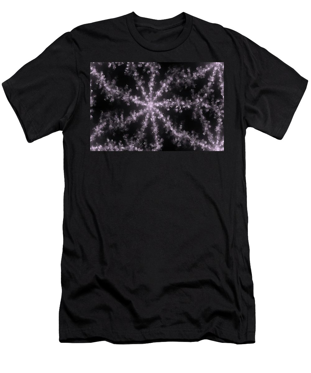 Abstract Men's T-Shirt (Athletic Fit) featuring the photograph Starfish by Jeff Swan