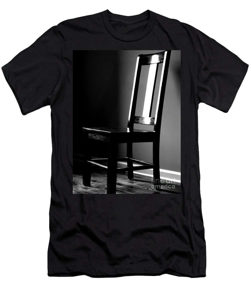 Stillness Men's T-Shirt (Athletic Fit) featuring the photograph Still by Amanda Barcon