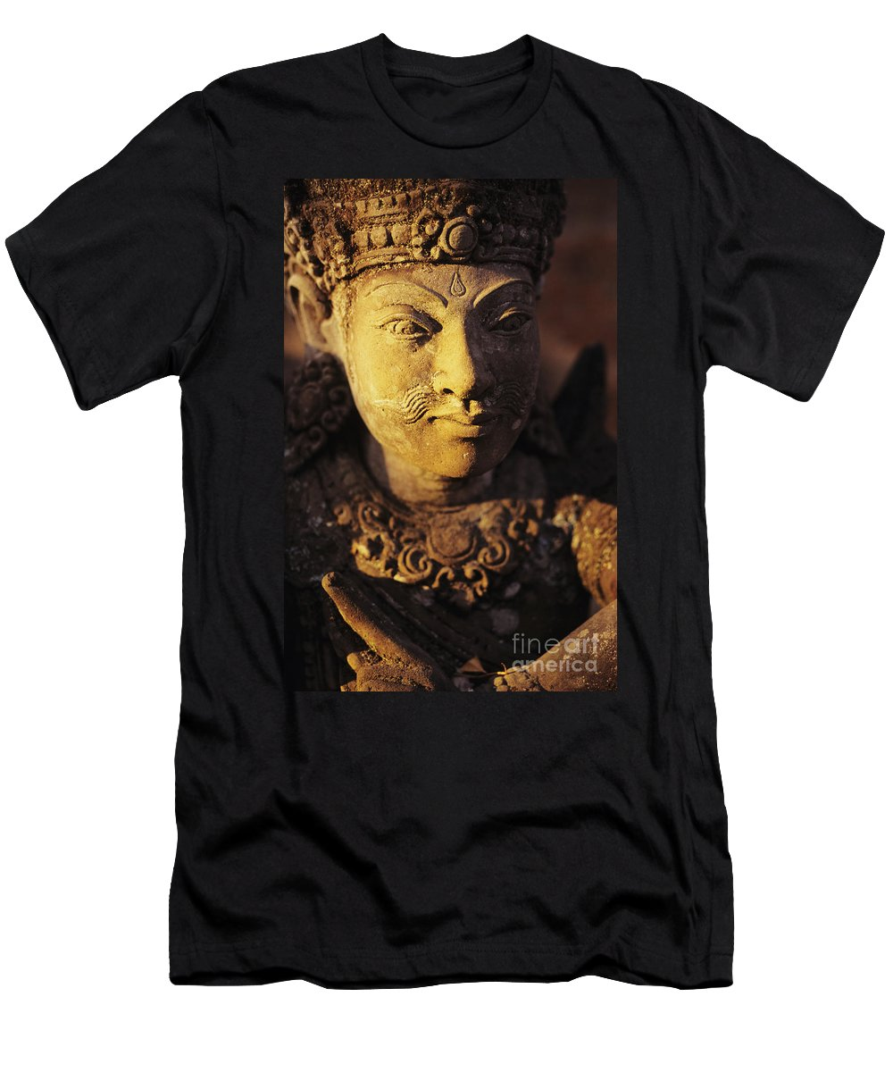 Art Men's T-Shirt (Athletic Fit) featuring the photograph Stone Carving by Dana Edmunds - Printscapes