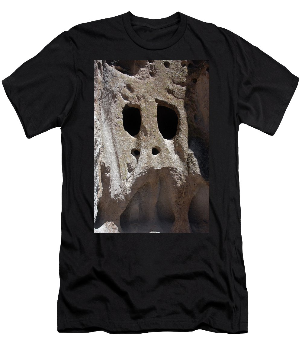 Stone Men's T-Shirt (Athletic Fit) featuring the photograph Stone Ghoul by Alynne Landers